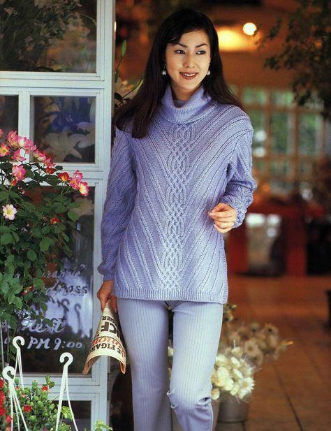 свитер вязание спицами обсуждение на Liveinternet российский