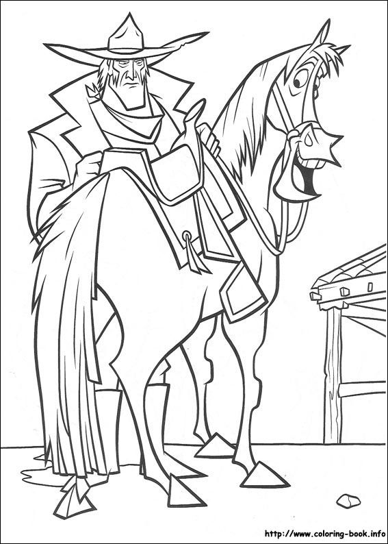 Home On The Range Coloring Page Disney PagesHorse