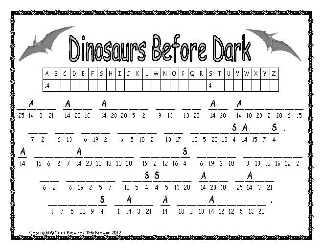 1000+ images about Dinosaurs Before Dark on Pinterest | Magic Tree ...