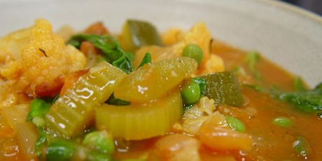 chef Michael Smith minestrone soup...one of my all time favorite recipes. Full of healthy vegtables!
