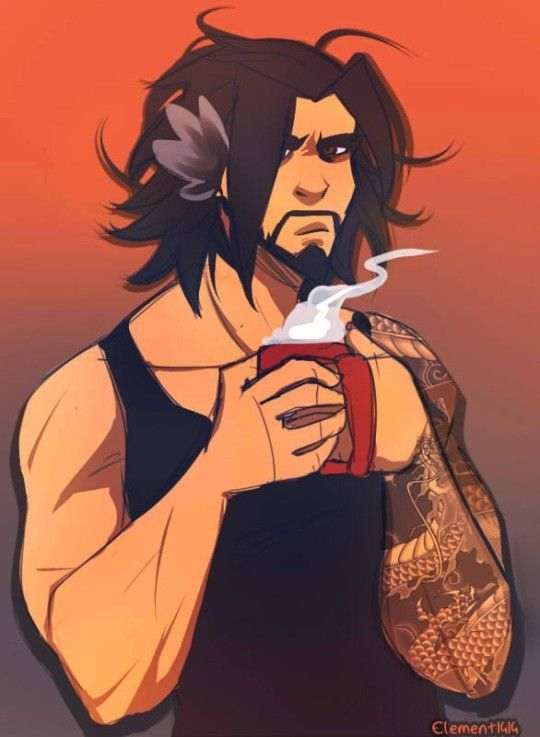 Overwatch - Hanzo Loose Hair Hipster