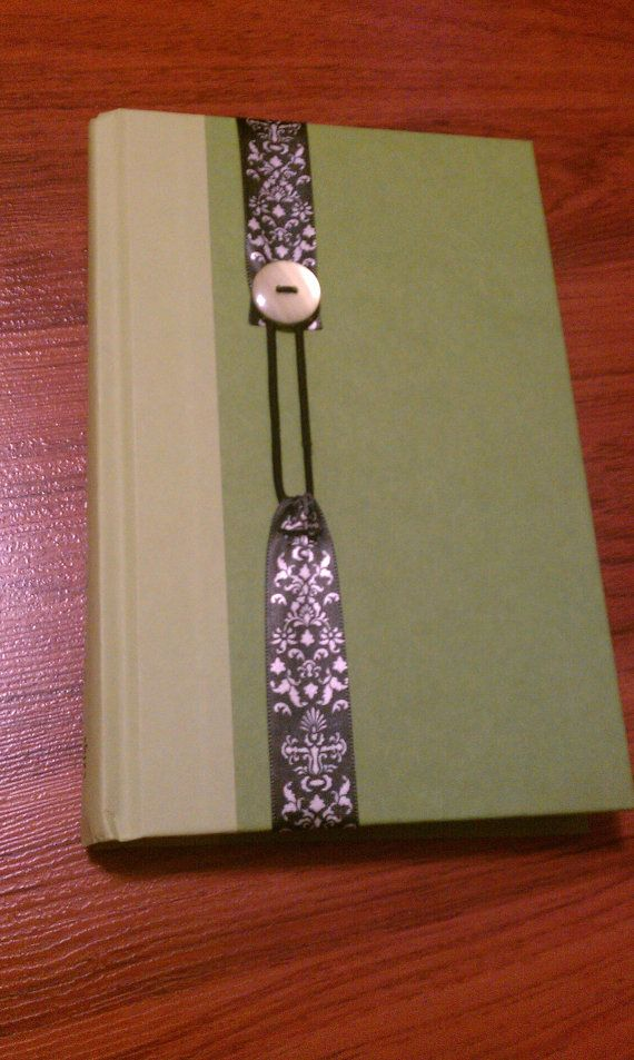 Bookmark! Ribbon, button, stretchy stuff. Very little sewing.