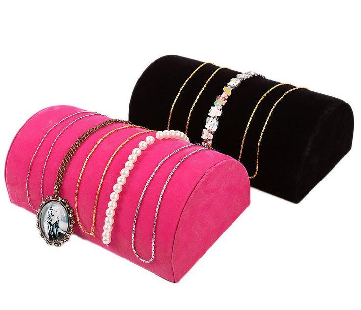 Много бархат ювелирные изделия дисплей подушки лоток чехол для ожерелье браслет на цепи ювелирные изделия стойка держатель стойкакупить в магазине Guangdong WJ Jewelry Display Co. LtdнаAliExpress