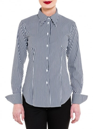 Mr.Rose Easy Rider in Charcoal stripe $169