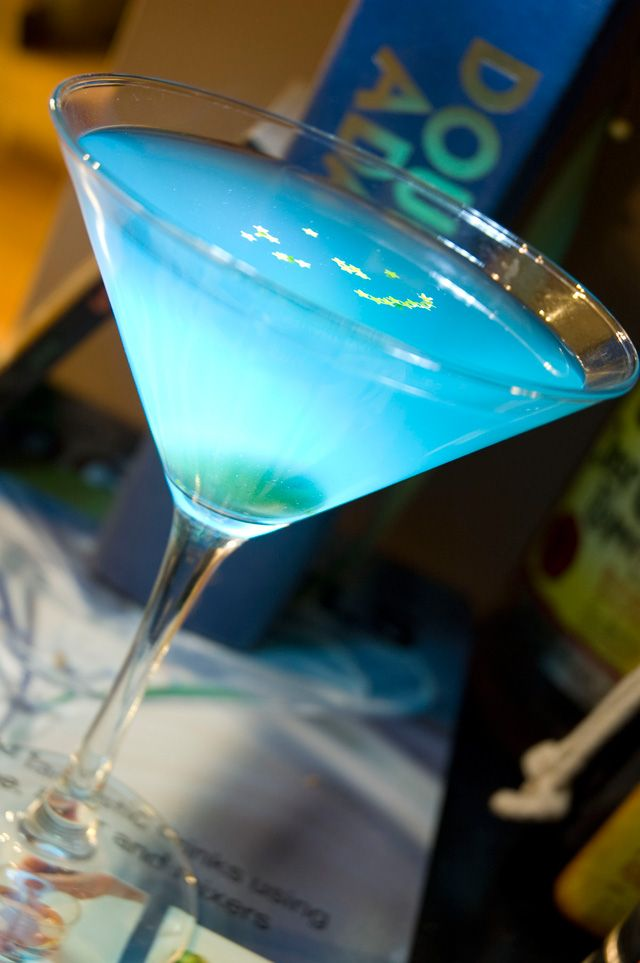 The Pan-Galactic Gargle Blaster, as descibed in Douglas Adams', The Hitchhiker's Guide to the Galaxy.