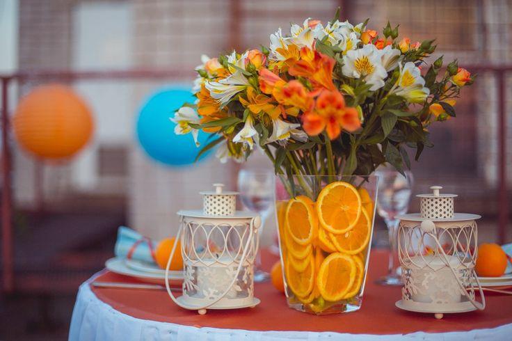 Апельсины в декоре