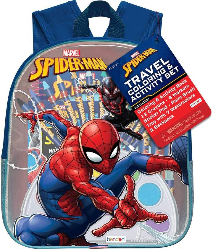 Boys Spiderman Travel Backpack Spiderman Travel Backpack Backpacks
