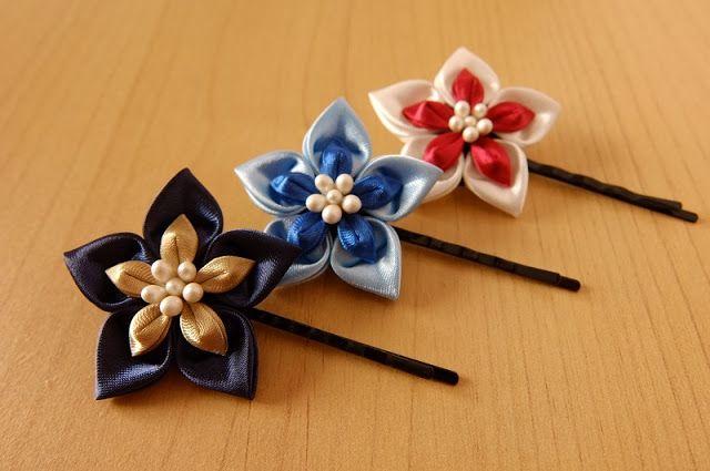 "kanzashi ""starfish""."
