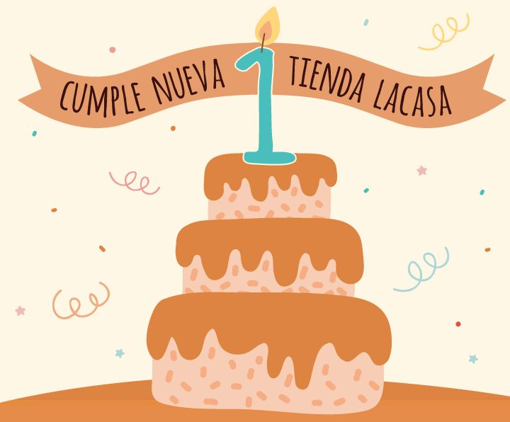 CHOCOLATES LACASA · We celebrated the First Birthday of the new Online Store we created for Lacasa with a special offer directed exclusively to customers. · https://www.tienda.lacasa.es/ · April-May, 2016