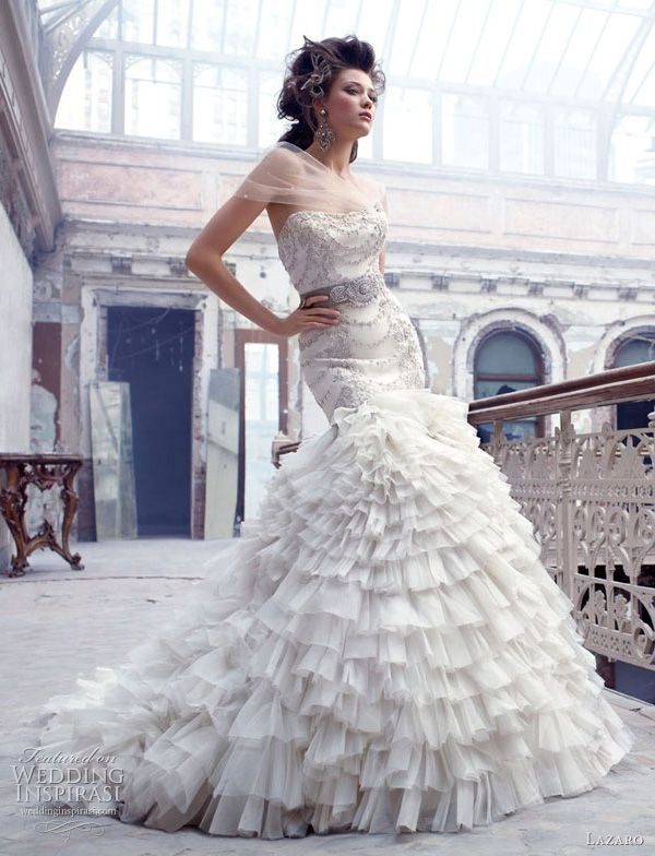 Lazaro Wedding Dresses Fall 2011 2012
