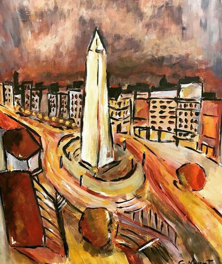 Obelisco Buenos Aires Obeliscos Arte Buenos Aires