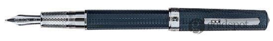 Omas Arte Italiana Art Navy Blue Medium Point Fountain Pen