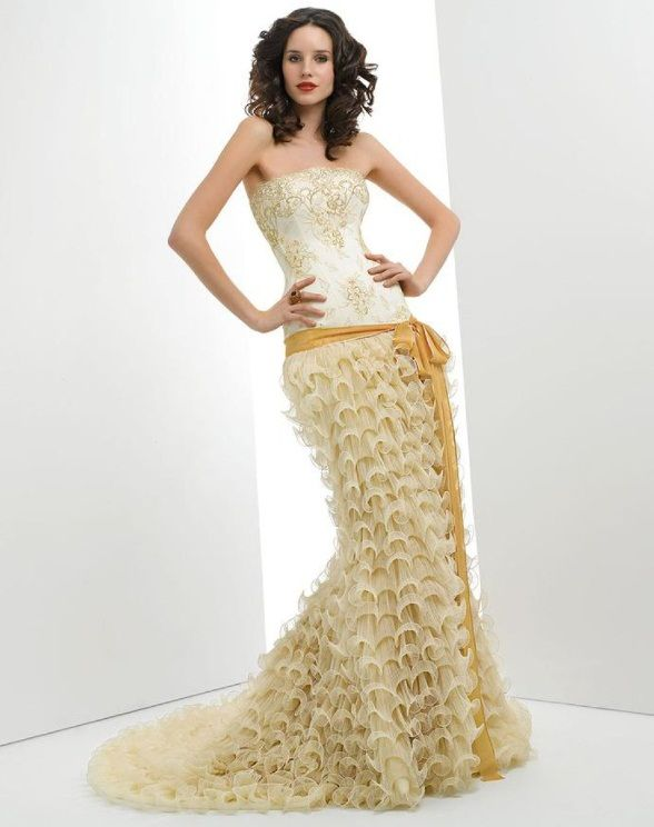 очень красивые свадебные платья картинки