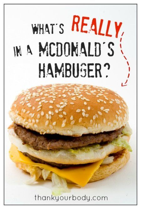 What's really in a McDonald's hamburger? Read this and be prepared to never eat there again.