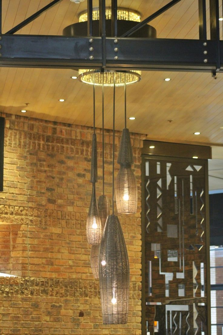 Lighting at the Park Hyatt hotel Rosebank Johannesburg