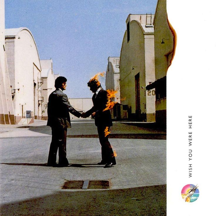 Pink Floyd, Wish you were here #cover #album