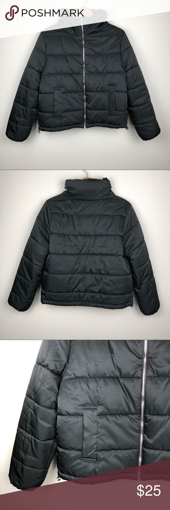 Black Puffer Jacket In Great Condition Purchased From An Online Boutique Gently Worn Ambiance Jackets Coats Puffers Black Puffer Jacket Black Puffer Jackets [ 1740 x 580 Pixel ]