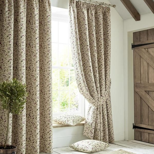 Penny Ready Made Lined Curtains Mulberry Curtains Lined Curtains Room Darkening Curtains
