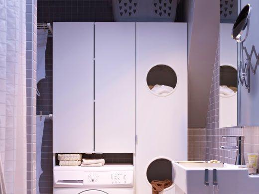 Para el ba o lavadero 120 pinterest ba o y lavaderos - Ikea mobile lavanderia ...
