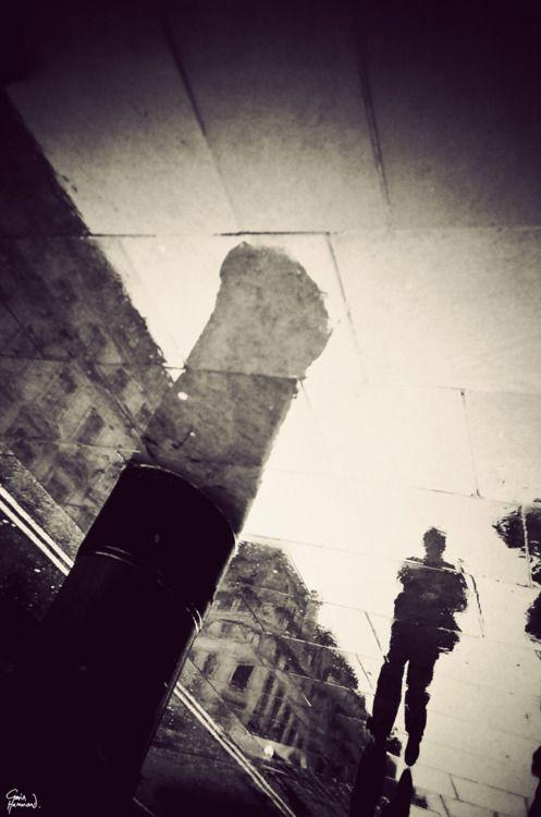 Gavin Hammond - London in puddle shots