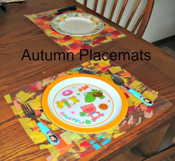 Create some Autumn Placemats