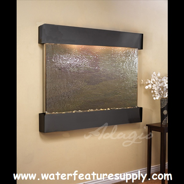 This Indoor Teton Falls Mounted Water Wall Will Impress Even The Toughest  Critics. When My