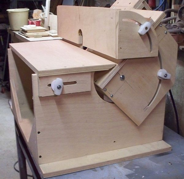Vertical horizontal router table build woodworking for Making a router table