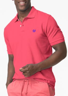 Chaps Raspberry Sherbet Pique Polo Shirt
