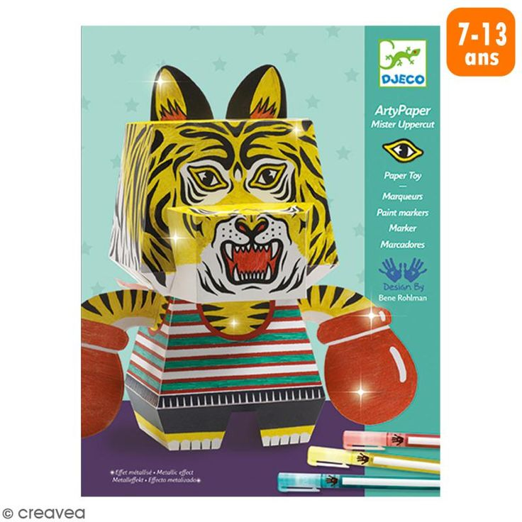 Compra nuestros productos a precios mini Kit Arty Paper Mister Uppercut - Entrega rápida, gratuita a partir de 89 € !
