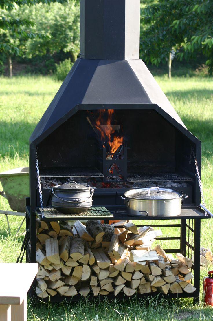 Deze mooie vrijstaande Zuid-Afrikaanse Home Fires #braai in uw tuin? Kijk op: http://www.onsgaanbraai.nl