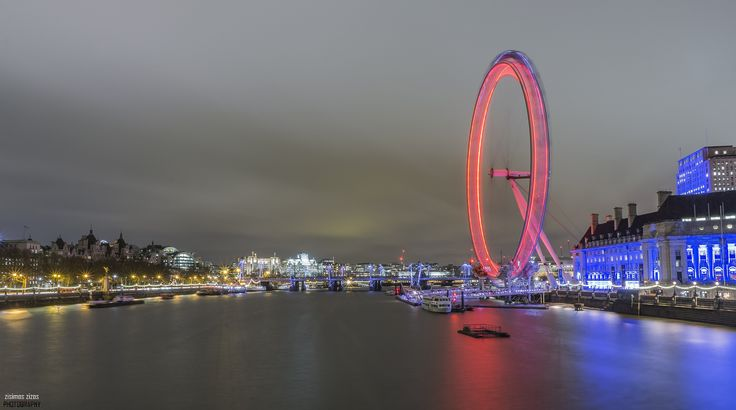London Eye in motion - My favourite construction in motion!!