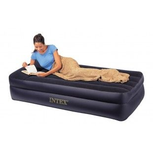 Matelas gonflable 1 personne, lit d'appoint Intex Rest Bed Pillow 99 x 191 x 47 cm