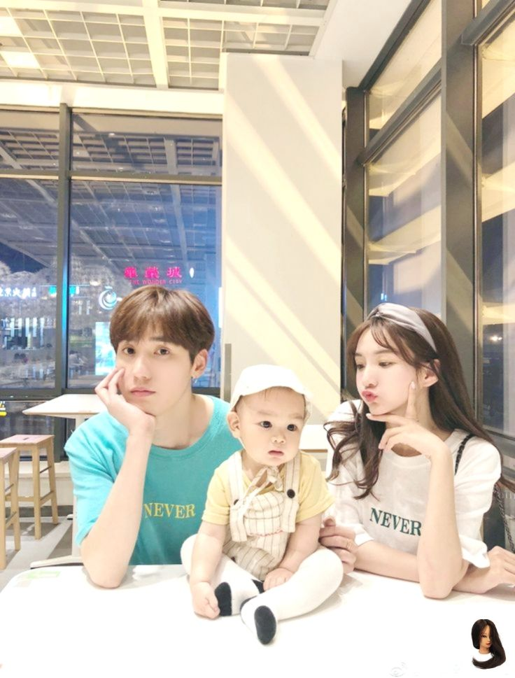 Mom And Baby Ulzzang Notitle Bayi Lucu Fotografi Keluarga Foto Keluarga