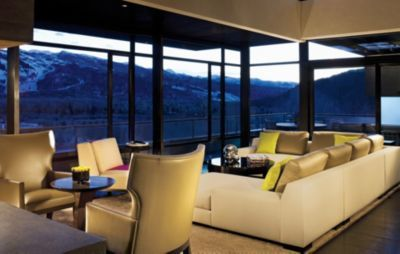 Views of the mountains from your living area, I want !