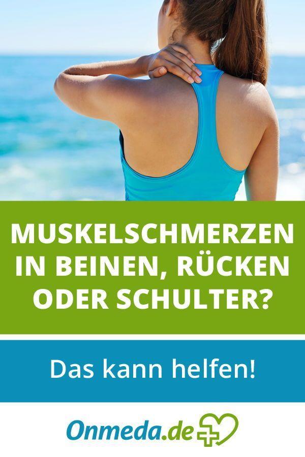 Muskelschmerzen (Myalgie): Die Ursachen und was Sie..