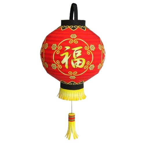 Китайские фонарики из бумаги - Papercraft