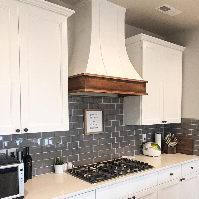 Range Hood With Shiplap Upper Solid Hardwood Face And Trim Kitchen Range Hood Kitchen Design Wooden Range Hood