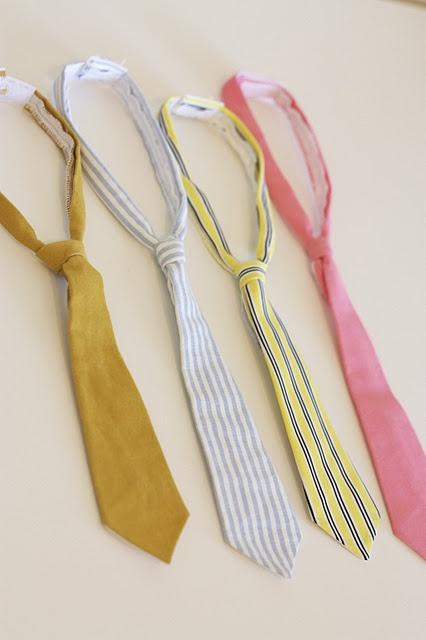 tutorial for little boy skinny ties