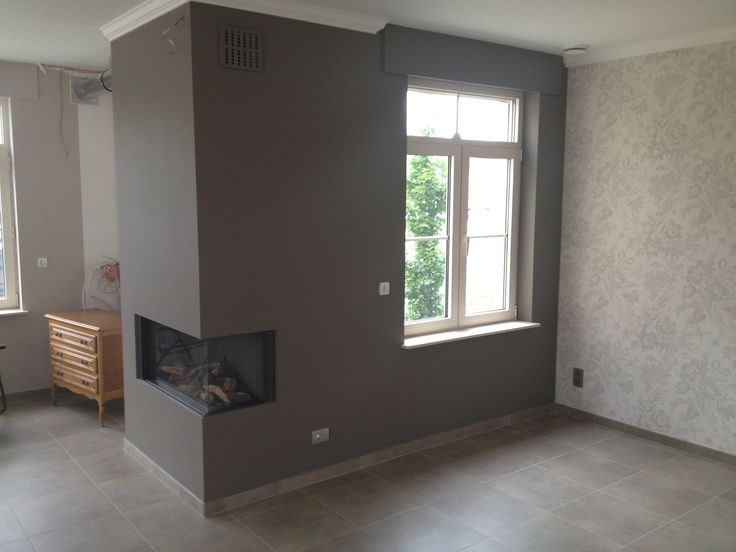 27 best images about accent muur on pinterest lakes bakeries and latex - Muur wit en taupe ...