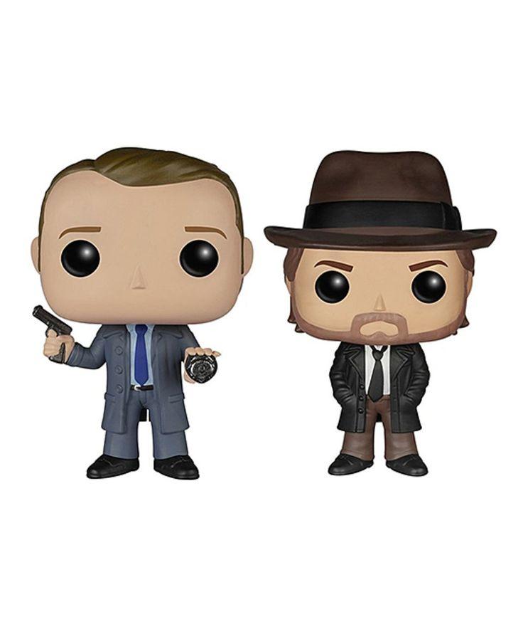 Take a look at this Pop! TV: Gotham Harvey Bullock & James Gordon Figurine Set today!
