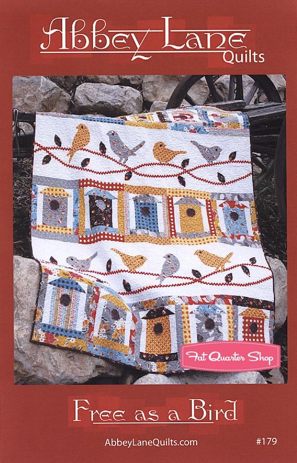 Free as a Bird Quilt Pattern Abbey Lane Quilts - Fat Quarter Shop