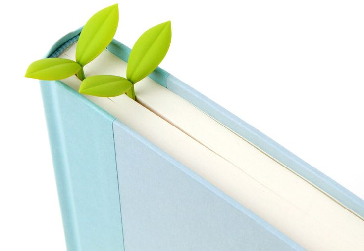 sprout bookmark by doodoo design now available at the designboom shop