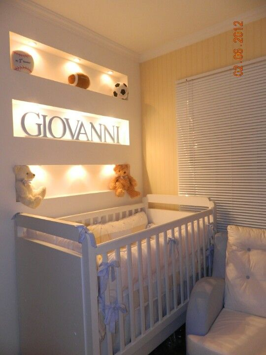 I think this would look so cute with glitter paint on the walls! So cute for a baby girl nursery!