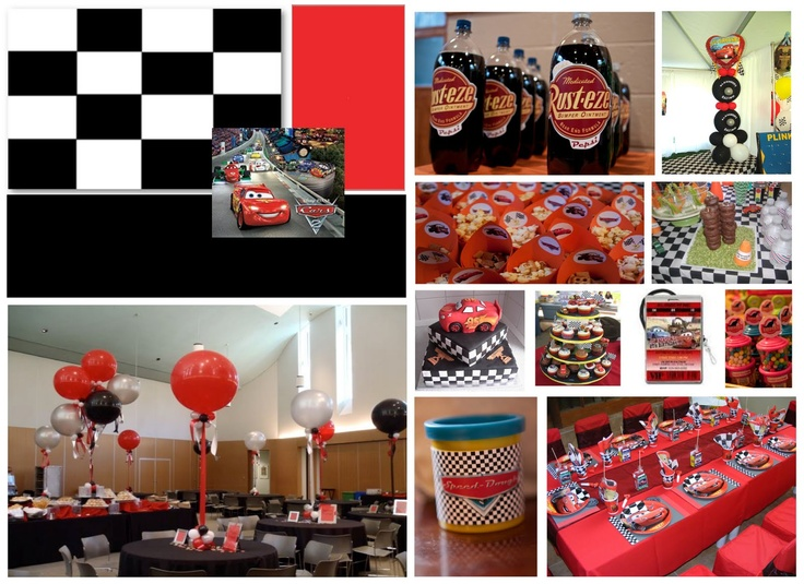 Image detail for -Mrs Mallie Momma: Disney Cars Themed Party Inspiration Board