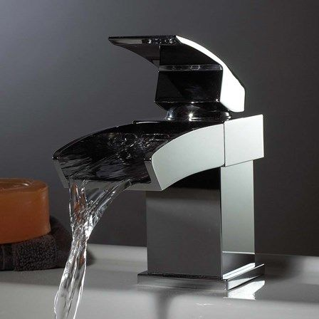 Beautiful Bathroom Taps 44 best modern bathroom waterfall taps images on pinterest