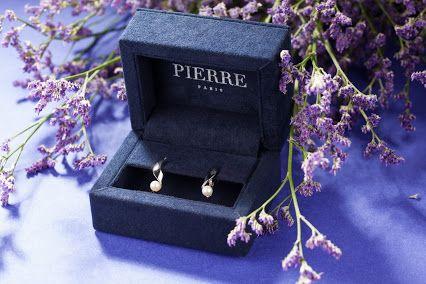 Ювелирные украшения PIERRE серьги из белого золота с морским жемчугом