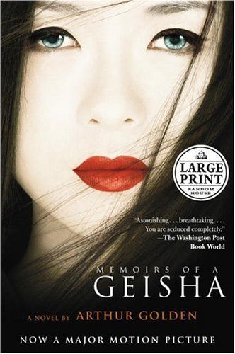Memoirs of A Geisha (2005). This is one of my favorite books....wonderfully written! The movie was a disaster in comparrison!