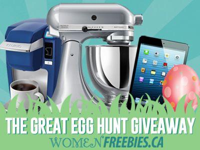 Enter The Great Egg Hunt Giveaway on WomenFreebies