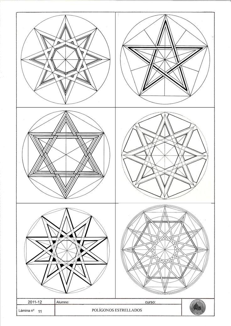 M s de 1000 ideas sobre ejercicios de figuras geometricas for El dibujo de los arquitectos pdf