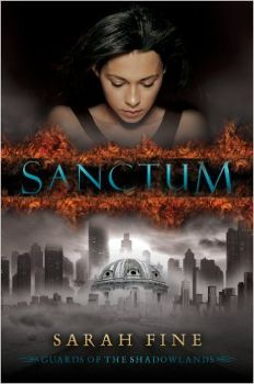 ★★ Review: Sanctum (Guards of the Shadowlands, #1) by Sarah Fine || pinkindle.net